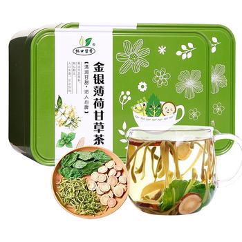 杯口留香金银薄荷甘草茶 80g×2盒