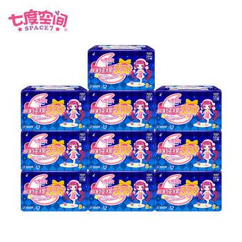 七度空间卫生巾少女系列8片装10包