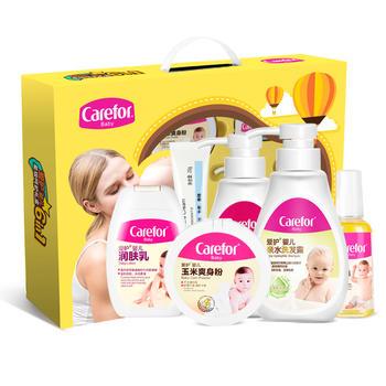 愛護 嬰兒洗護六件套禮盒裝