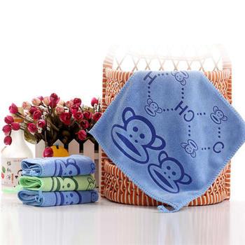 欧朵思擦手巾5条装小毛巾-四方巾