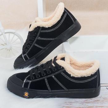 100KM猩猩猴 保暖加绒女鞋新款棉靴