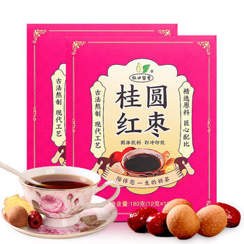 杯口留香桂圆红枣茶180克×2盒