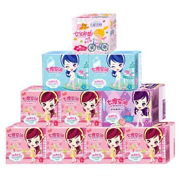 七度空间少女系列卫生巾套装10包