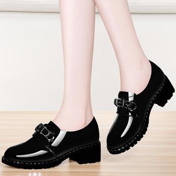 时尚单鞋女鞋韩版百搭女士皮鞋