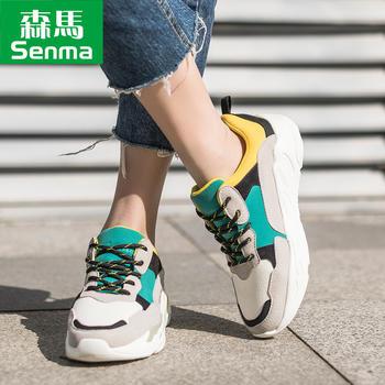 森马新款街拍款原宿运动鞋复古女