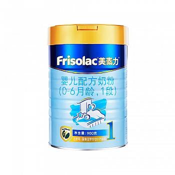 美素力婴儿配方奶粉1段罐装900克(新包装)