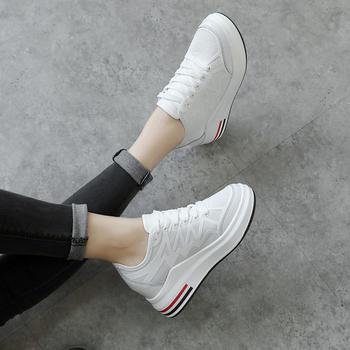 ZHR-新款内增高小白鞋厚底单鞋女