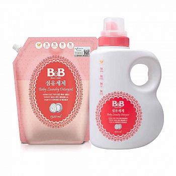 保宁洗涤类套装(纤维洗涤剂1500ml*1+纤维洗涤剂1300ml*1)