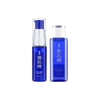 雪肌精盈润护肤礼包 (化妆水24ml+美白防护精华液 20mL)