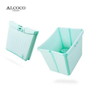 ALCOCO婴儿折叠浴桶浴盆加大