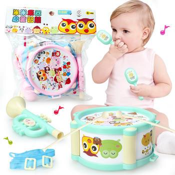 奥智嘉0-3岁宝宝欢乐乐器5件套