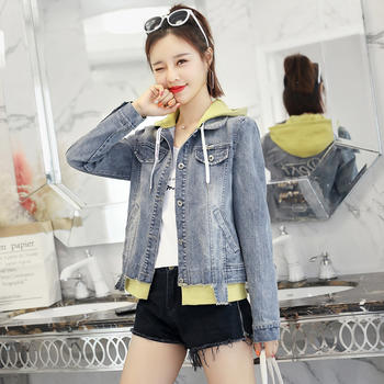 UYUK2018年春季韩版时尚修身短外套