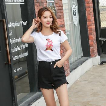 女装FX631L数码印花新款韩版百