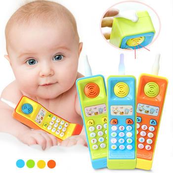 奥智嘉0-3岁宝宝早教仿真音乐手机