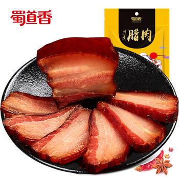 蜀道香四川特产五花腊肉500g