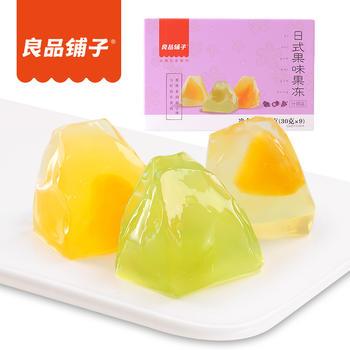 良品铺子 日式纸袋果冻零食270g