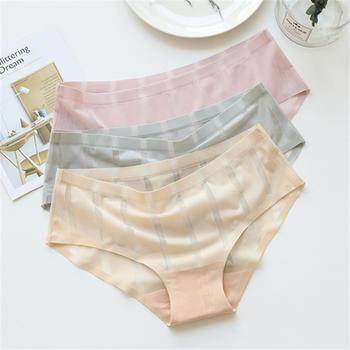 GREAT 2条装 一片式冰丝无痕女内裤