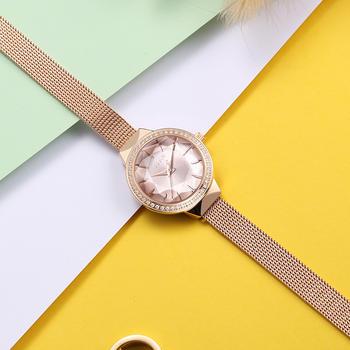 聚利时韩风时尚镶钻潮流手链手表