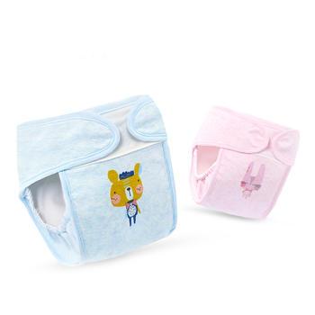 gb好孩子婴儿尿布裤纯棉布尿裤