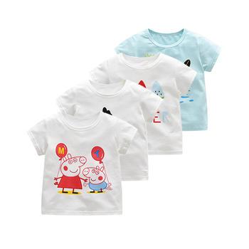 罗町 routy 夏季可爱卡通印花T恤