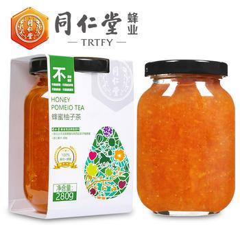 同仁堂蜂业蜂蜜柚子茶280g