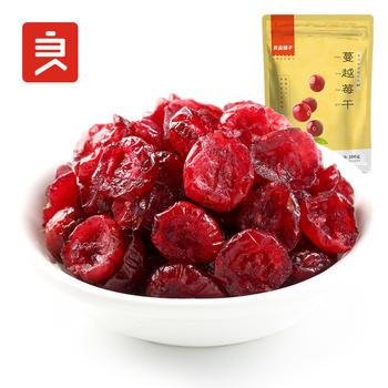 良品铺子蔓越莓干零食100g
