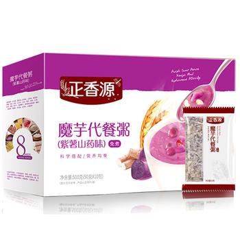 正香源魔芋紫薯山药代餐粥500g/盒