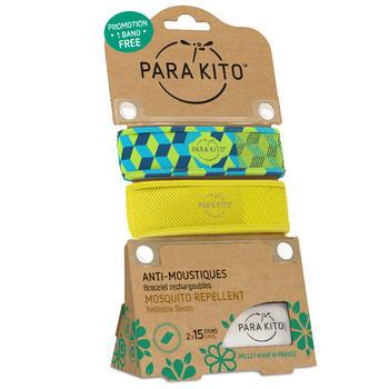 帕洛/parakito 驱蚊手环 立方+黄色