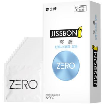杰士邦 ZERO 零感超薄超润安全套套
