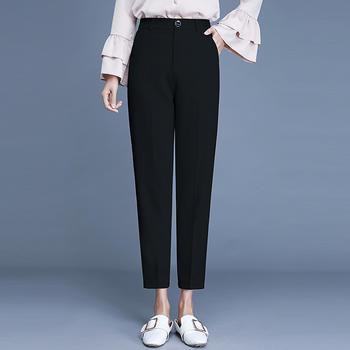 新款裤女九分裤高腰女装女裤DC2211