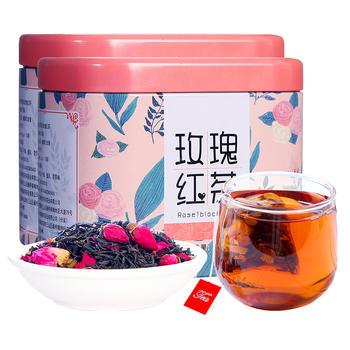 四月茶侬  玫瑰红茶45g*2