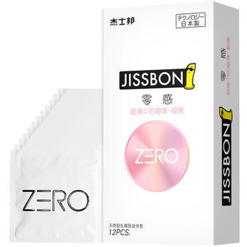 杰士邦ZERO零感超薄热感12只安全套