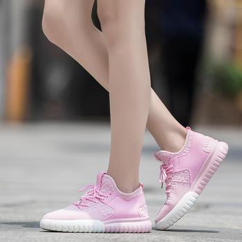 森马单网鞋女夏?#37202;?#24213;透气网面鞋
