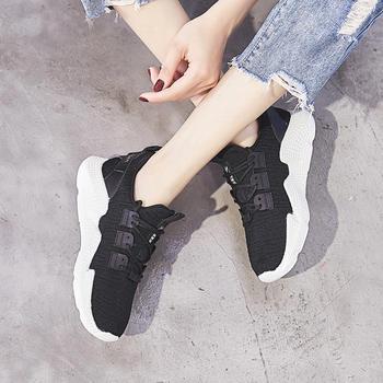 ZHR-时尚飞织?#23616;?#30382;鞋垫】休闲鞋