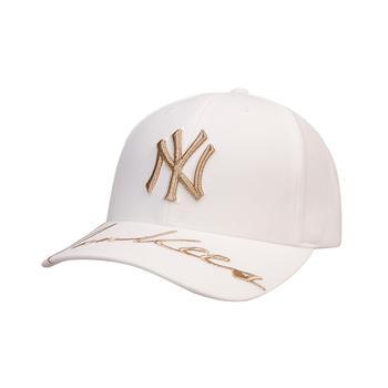 MLB美职棒金线字母刺绣棒球帽