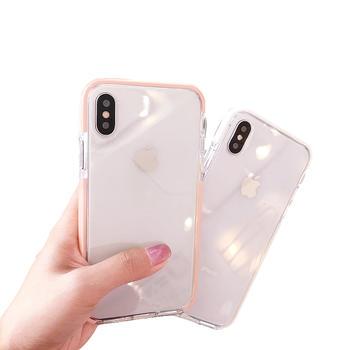极步苹果IPhone手机壳软壳ins透明