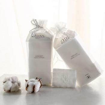 亿珊60片袋装加厚化妆棉卸妆棉