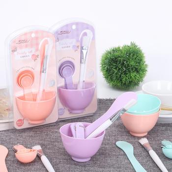 态美 6件套DIY面膜碗补水压缩面膜纸自制面膜美容套装
