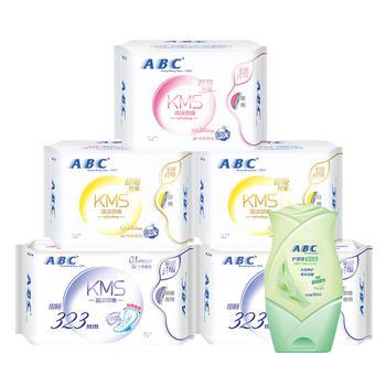【买2套送收纳?#23567;緼BC卫生巾组合5包共30片
