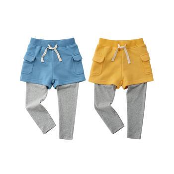 minizone春秋长裤工装短裤2件套