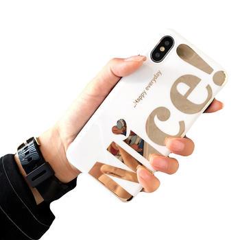 极步苹果iphine手机壳软壳个性文字