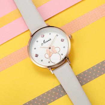 迪士尼学生米妮可爱韩版简约手表