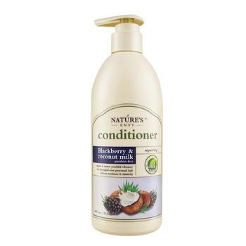 天然之扉黑莓椰乳柔亮洗发护发乳