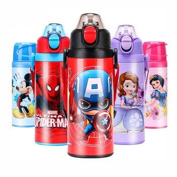 迪士尼儿童保温杯带吸管幼儿园杯