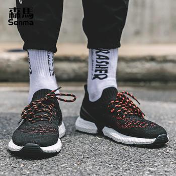 森马男鞋秋季潮鞋网面鞋运动鞋