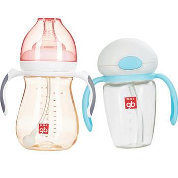 gb好孩子ppsu训练杯奶瓶水杯组合装