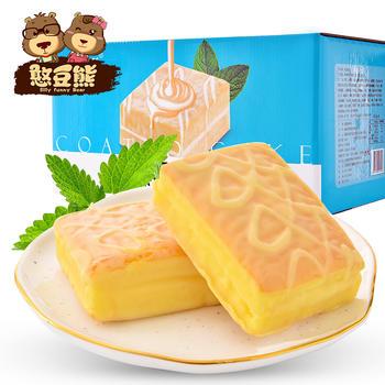 憨豆熊 涂层奶油蛋糕1000g
