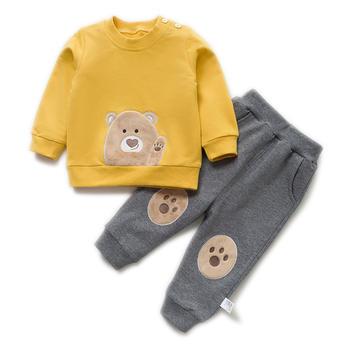 Cipango 新款可爱小熊款两件套
