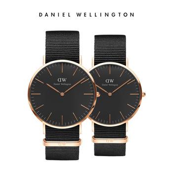 DW 热销简约百搭情侣尼龙带手表40mm/36mm
