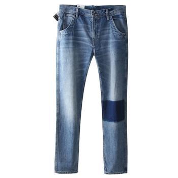 Lee  男士缝补新品牛仔裤 L147311PP4UF